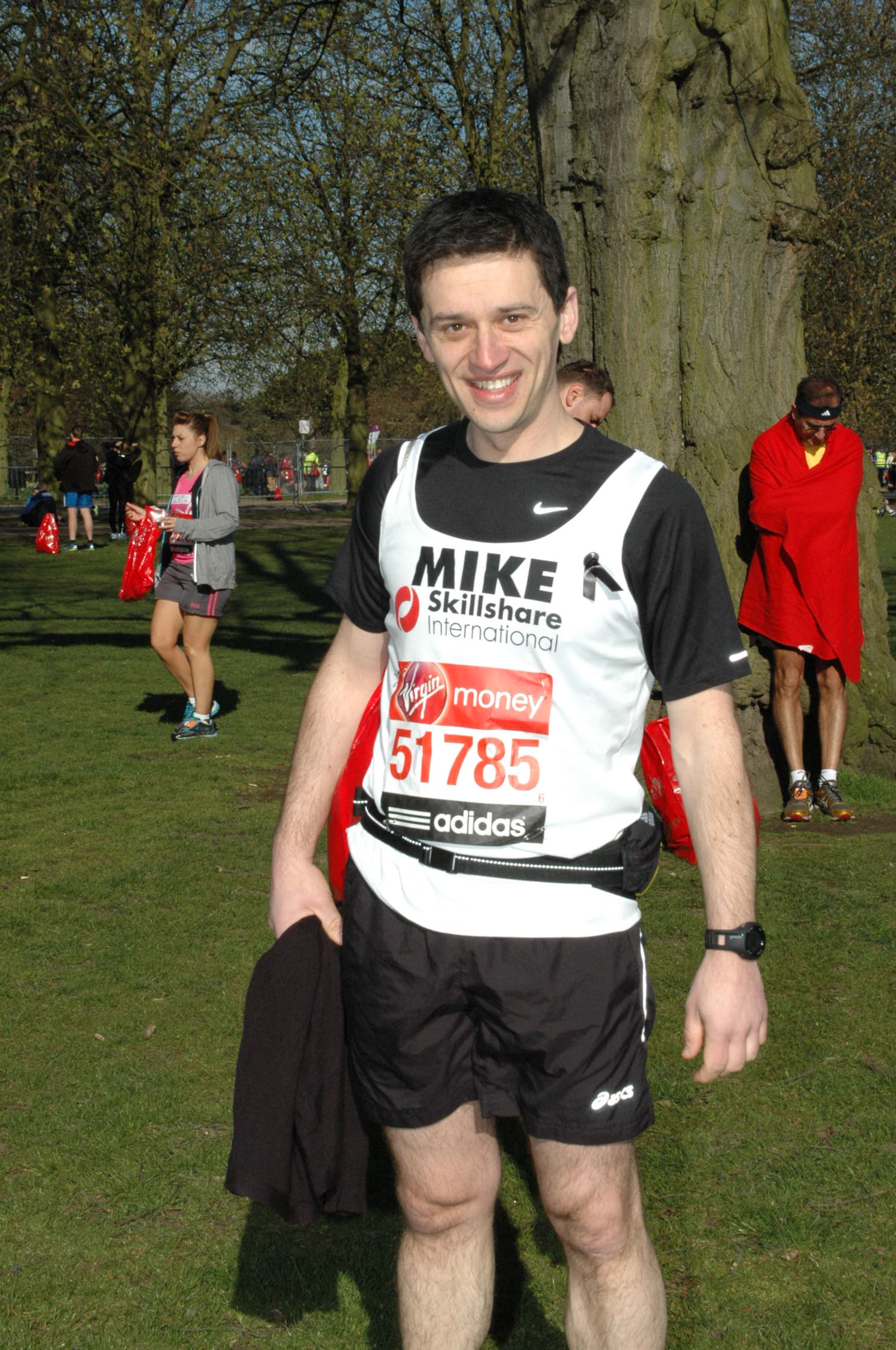 Mike Rondas at London Marathon 2013